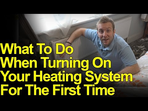 TURN ON YOUR HEATING FOR THE FIRST TIME AFTER SUMMER - CHECK LIST - Plumbing Tips