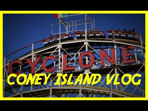 Coney Island Vlog February 2018 - Adventures in Airtime
