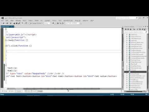 Change or set paragraph text,html and value of textbox dynamically with jQuery