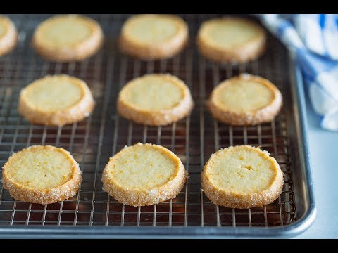 How to Make MEYER LEMON COOKIES (Sables) (Recipe) マイヤーレモンサブレの作り方 (レシピ)