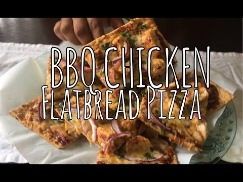 BBQ Chicken Flatbread Pizza/ Cook With Me!