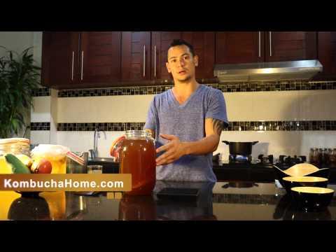 How to Make Kombucha Tea in 3 Minutes