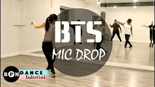 Download BTS ″MIC DROP″ Dance Tutorial (Prechorus, Chorus) Video