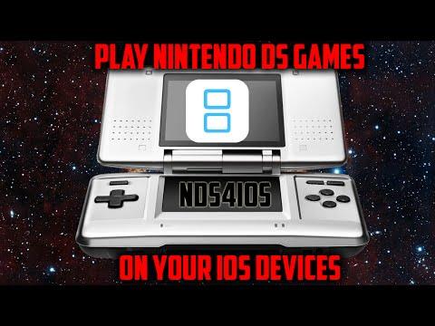 Nds4ios: A NINTENDO DS EMULATOR FOR YOUR IOS 9.3.5 iPhones,  iPads(NO JAILBREAK)(NO COMPUTER)