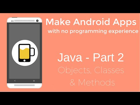 How to Make Android Apps - Java Programming Part 2