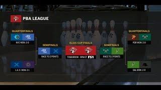 2019 PBA League Semifinals - NYC vs. L.A., Portland vs. Dallas