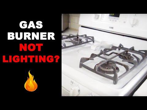 Gas Oven Burner Not Lighting SOLVED