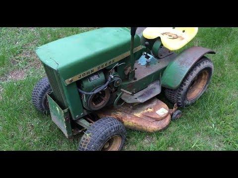 1967 John Deere 112 Round Fender Garden Tractor Found on Craigslist