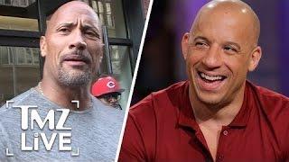 The Rock Vs. Vin Diesel: The Feud Is OVER   TMZ Live