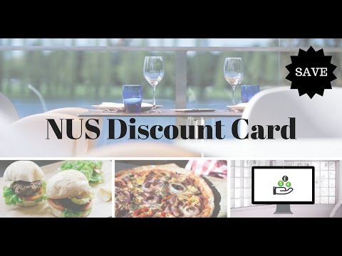 How to qualify for NUS discount card when you aren't a student