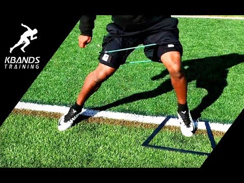 Resistance Exercises to Increase Speed with Leg Bands