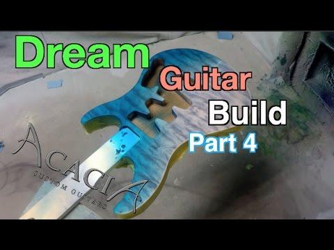 Dream Guitar Build Part 4 ( Neck CNC & Paint)