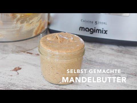Selbst gemachte Mandelbutter (Mandelmus) - Heavenlynn Healthy