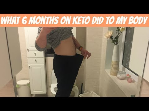 What 6 months keto did to my body | it took me 4 months to get fat adapted!!