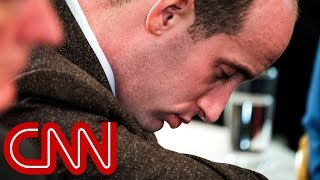 Stephen Miller caught snoozing during Trump