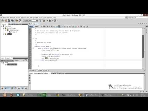 How to Read Excel in Java