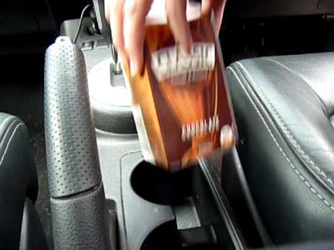 Farmers Union Iced Coffee and flavoured milk carton holder for cars
