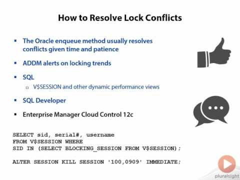 0608 How to Resolve Lock Conflicts