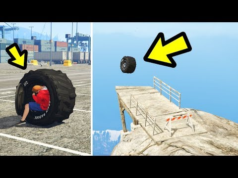 You can drive a GIANT wheel in GTA 5