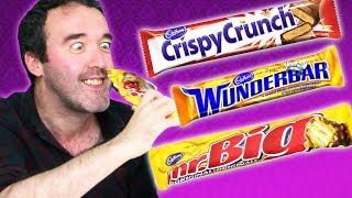 Irish People Try Canadian Cadbury's Chocolate