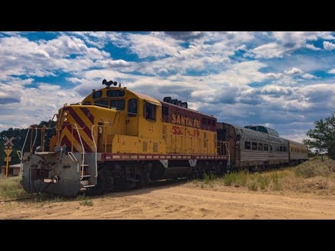 Private Cars on the Santa Fe Southern Railway 7/7/17
