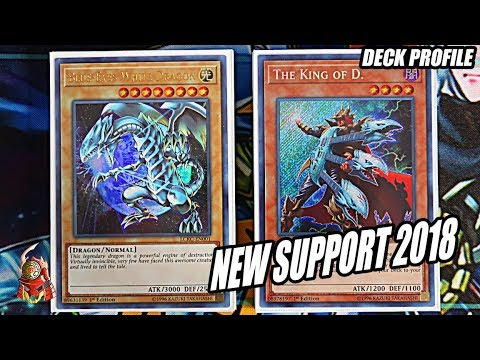 YUGIOH! BEST BLUE-EYES DECK PROFILE! + NEW DRAGON SUPPORT 2018! FEBRUARY 2018 BANLIST! (MARCH 2018)