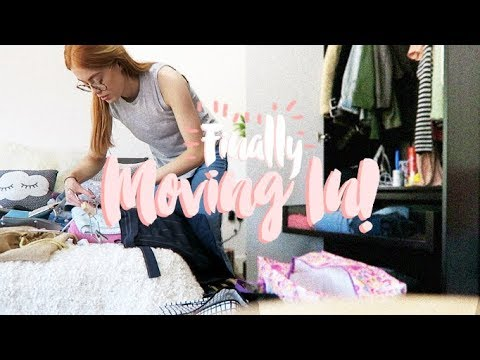 FINALLY MOVING IN! | MOVING VLOG #2 | MsRosieBea