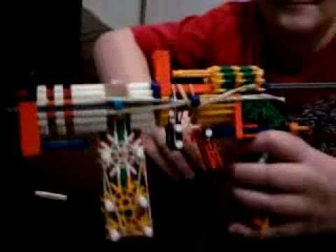 knex slide action pistol with mag