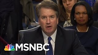 Attorney: Republicans Skipped Call With Second Brett Kavanaugh Accuser | Rachel Maddow | MSNBC