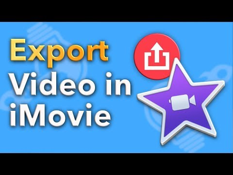 How to Export a Video in iMovie 2018
