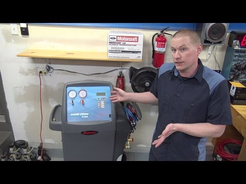 New Robinair A/C Recovery Machine R134A Model 34288 Overview!
