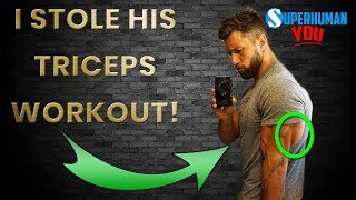 Best Triceps In The World? Mass Building Triceps Workout