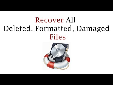 How To Recover All Deleted, Formatted, Damaged  Files - Wondershare Data Recovery