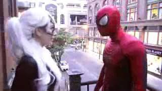 Download SPIDER MAN VS BLACK CA.... REAL LIFE SUPERHERO MOVI Video