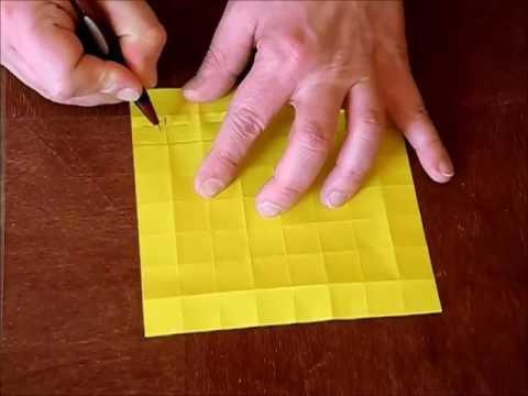 a basic pleat tessellation
