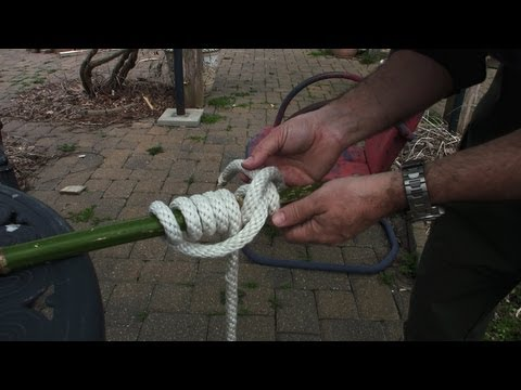 How to Tie and Use the Pipe Hitch