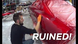 Ruining the Supra Paint...