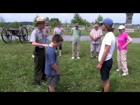 The Peach Orchard at Gettysburg - Ranger Matt Atkinson