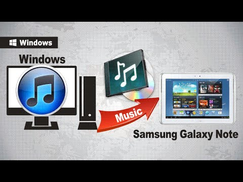 [iTunes Music to Galaxy Note 10.1]: How to Sync Music from iTunes to Samsung Galaxy Note 10 1