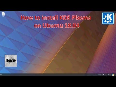 How to Install KDE Plasma on Ubuntu 18.04