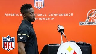 Antonio Brown on Distractions, Odell Beckham & Battling with Malcolm Butler | NFL Press Conference