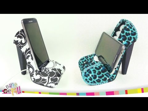 ❥DIY - Mobile Holder High Heel / Zapato Porta-Celular