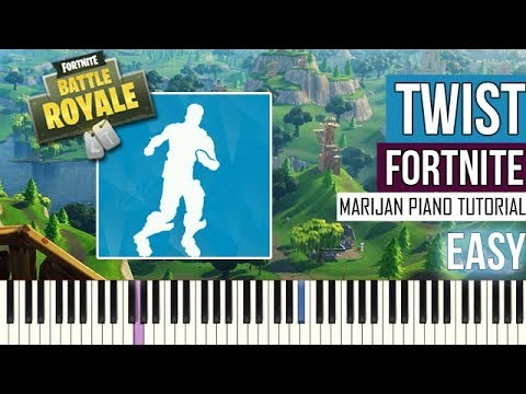 How To Play: Fortnite - Twist | Piano Tutorial EASY