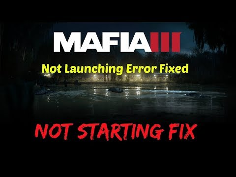 How To Fix Mafia 3 Application has stopped working pirated version