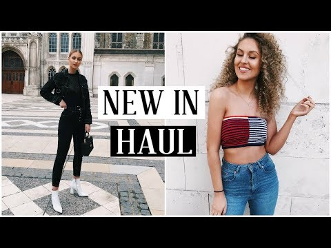 NEW IN TRY ON HAUL | MISSGUIDED, URBAN OUTFITTERS, BERSHKA, ASOS! AD