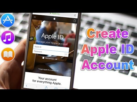 *NEW May 2018* How to Create an Apple ID (without Credit Card) use in the App Store, iTunes Store