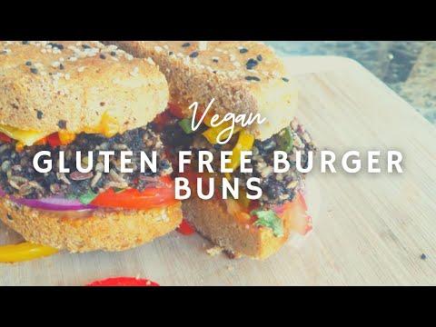 How To Make Gluten-free Vegan Burger Buns & Pizza Crust | Easy | Korenn Rachelle
