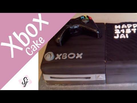 XBOX Cake Tutorial!!