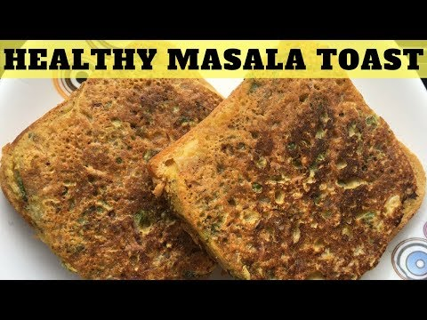 Veg Masala Indian Toast Recipe That Is Healthy & Perfect For Weight loss | Breakfast With WORKitOUT