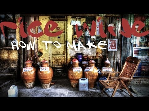 How do Hakka people make rice wine ?